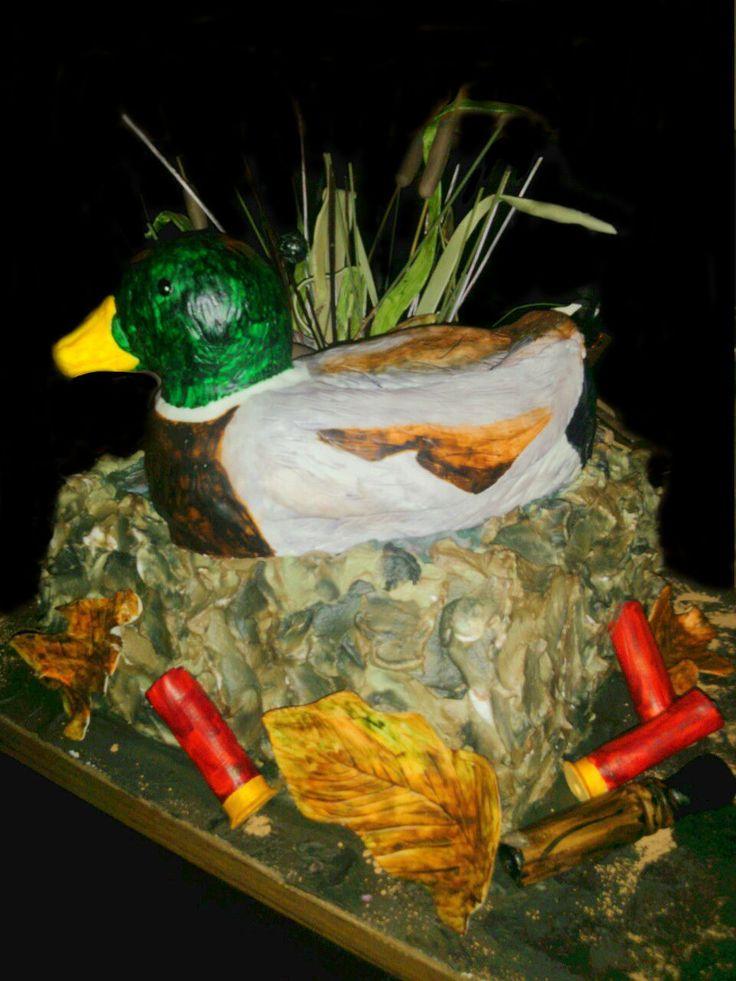 Duck blind cake  Our Birthday Cakes  Pinterest