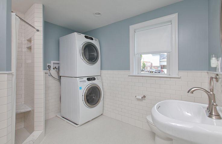 bathroom laundry combo ideas for the basement pinterest