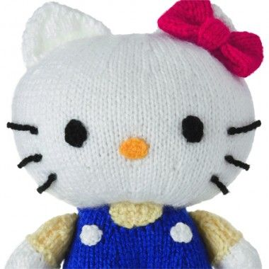FREE Hello Kitty Toy - Knitting Pattern Free Knitting Patterns Pi?