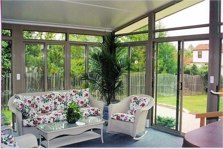 Pin by carla hyde on for the home pinterest for Sliding glass doors sunroom