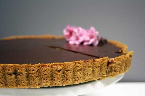 Chocolate-Peanut Butter Mousse Tart | Recipe