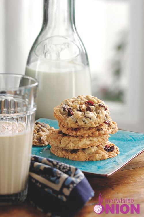 Chocolate Chip, Oatmeal & Dried Cherry Cookie #Recipe