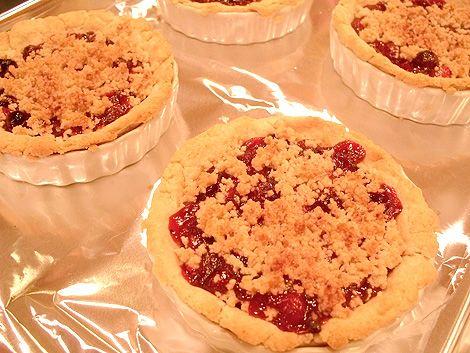 Queen of Tarts - Cranberry tarts | Sweet Indulgences | Pinterest