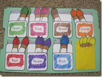 List of 15 Links to Free Printable File Folder Quiet Books