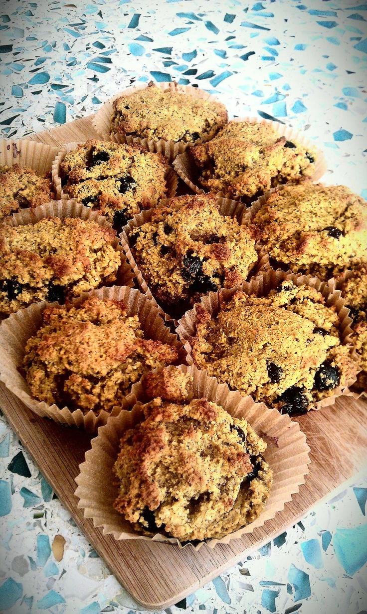 Gluten-free, soy-free, corn -free vegan mango blueberry muffins http ...