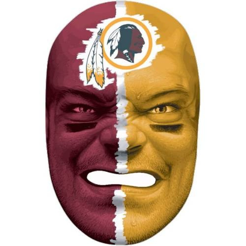 Barber Face Mask : Franklin Sports 6991F14 NFL Washington Redskins Fan Face Mask