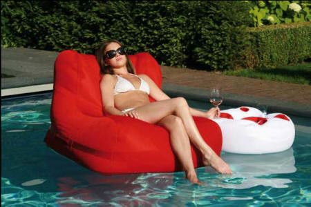 floating bean bag chair funtastic pinterest. Black Bedroom Furniture Sets. Home Design Ideas