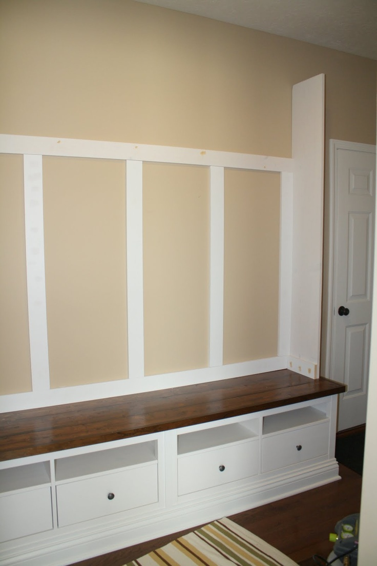 Mudroom storage bench mudroom organization pinterest Mud room benches
