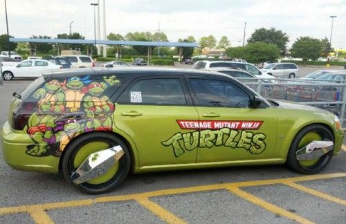 Teenage Mutant Ninja Turtles Station Wagon on Global Geek News.
