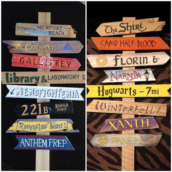 Create your own fandom directional sign for home or for Design your own house sign
