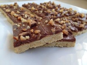 Chocolate Cream Cheese Cookie Bars…a macadamia nut cookie bar topped ...