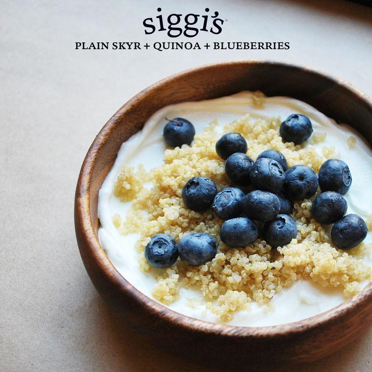 ... delicious recipes - Blueberry Quinoa Parfait   Yum Yum's   Pinterest