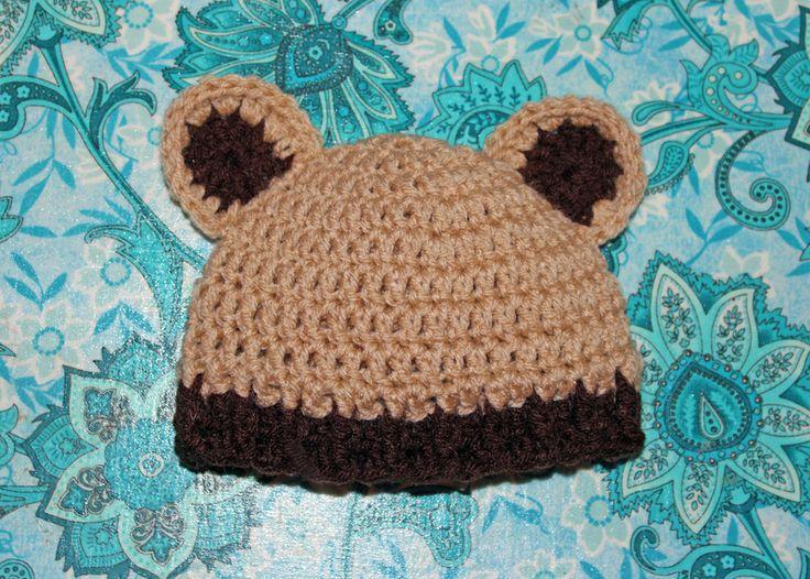 Crochet Baby Bear Beanie Pattern : Pin by Aimee Grey on Yarn and crochet Pinterest