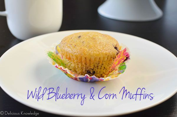 Wild Blueberry Corn Muffins {Gluten-Free and Vegan} | http://delicious ...