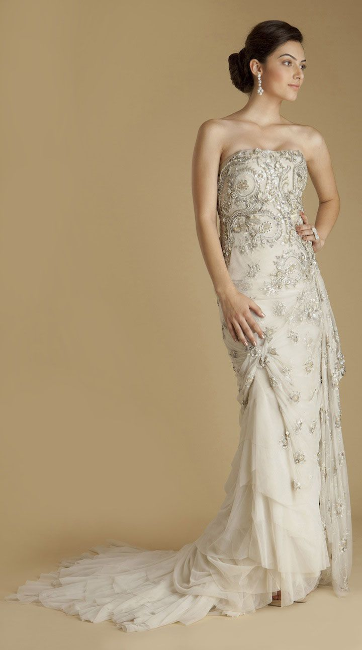a mix between a indian and american wedding dress loveeee With american wedding dresses