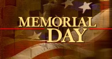 when is memorial day and labor day 2013