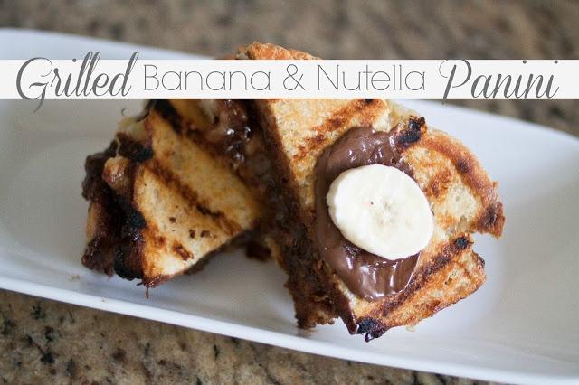 ... banana marshmallow creme panino strawberry banana nutella panini for