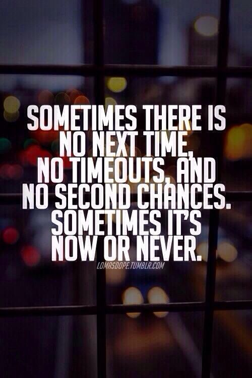 No second chance | Quotes | Pinterest