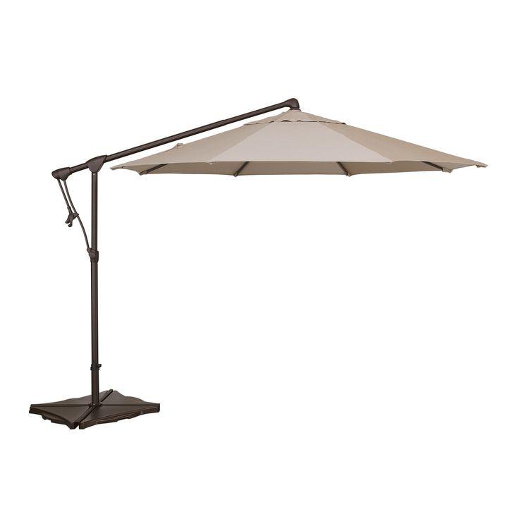 treasure garden 10 ft cantilever octagon offset patio umbrella www