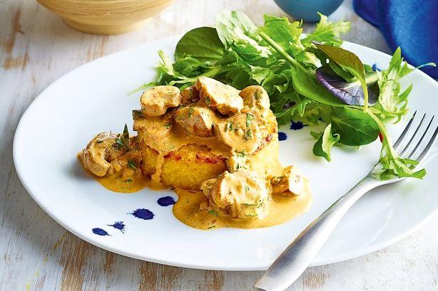 Risotto cakes with mushroom ragu | Main dish | Pinterest