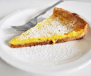 Rustic Meyer Lemon Tart Recipe — Dishmaps