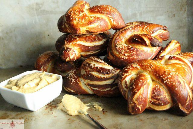 soft pretzels mustard soft pretzels from salty snacks soft pretzels ...