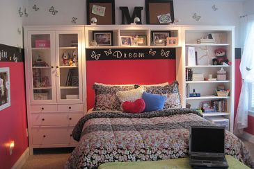 One of my latest projects...Teen girl's room gets a new look. :: Hometalk