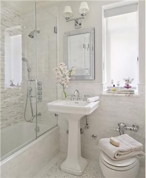 Contemporary Modern Retro Bathroom House Design