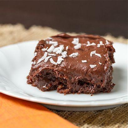 Coconut Mocha Cupcakes via Ari's Menu