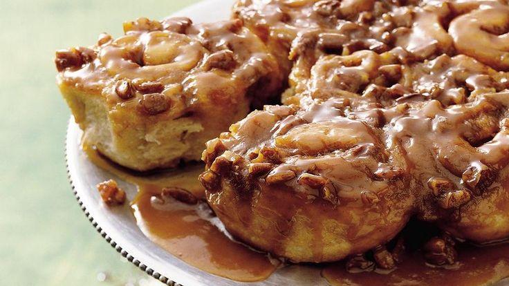 Easy Caramel Sticky Rolls | Recipe