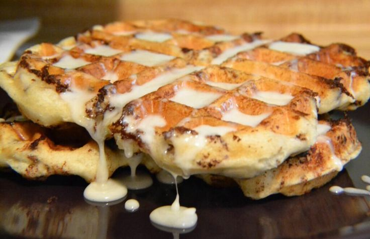 Cinnabon waffles | Food | Pinterest