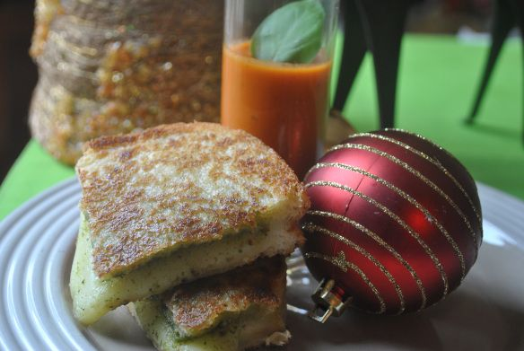 Italian Style Grilled Cheese | Sandwich / Burger Board | Pinterest