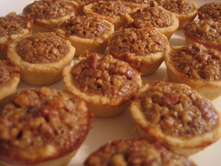 Mini Pecan Tarts | Recipe