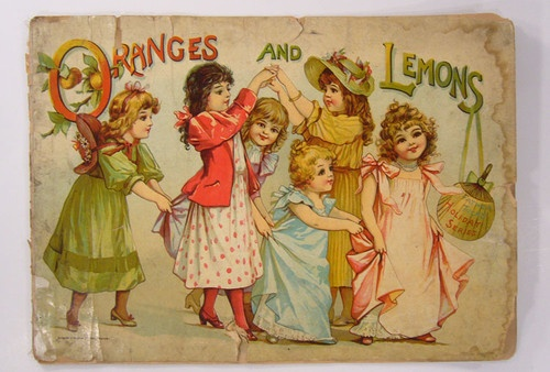 ORANGES and LEMONS Children's Book - 1900 FRANCES BRUNDAGE