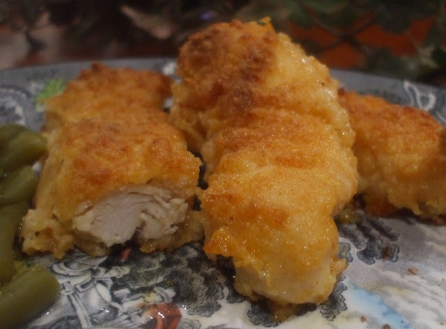 Oven Fried Parmesan Chicken--made a 1/2 recipe, used freshly grated ...