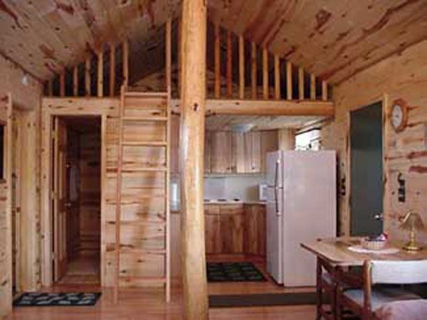 Small Cabin With Loft Cabins Pinterest