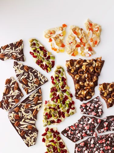 ... Chocolate Bark, 4. Movie Night Bark, 5. Tropical White Chocolate Bark