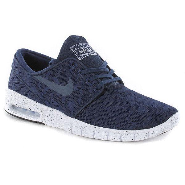 Nike Sb Stefan Janoski Max Shoes - Midnight Navy