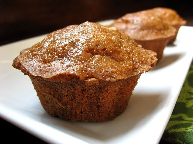 Spiced Zucchini & Walnut Muffins | Oh Me, Oh My | Pinterest