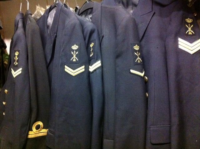 Old Dutch Navy Uniforms / For sale €