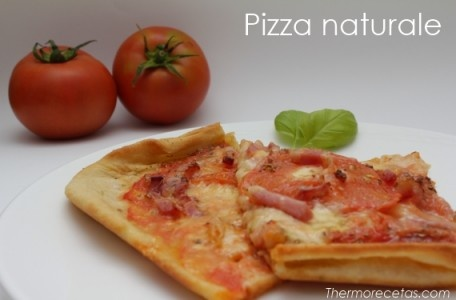 Exquisita pizza naturale