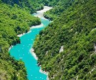 Verdon, fiume, rive, france