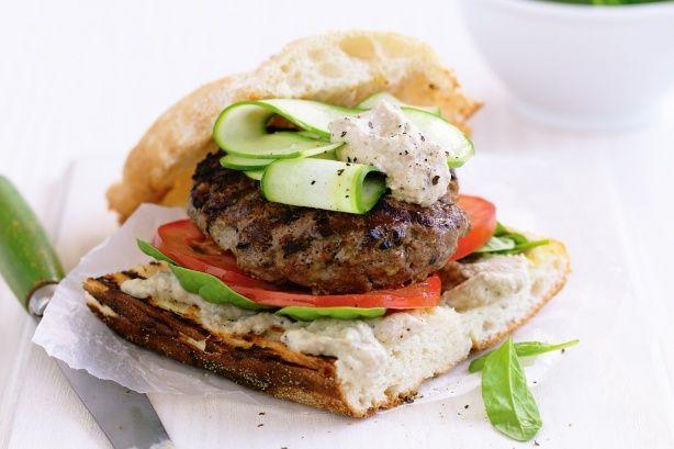 Turkish lamb burger | Food | Pinterest