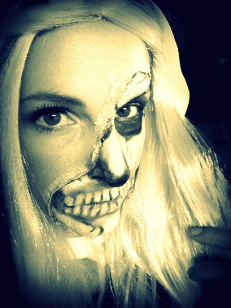 Maquillage costume Halloween 2013  Halloween  Pinterest