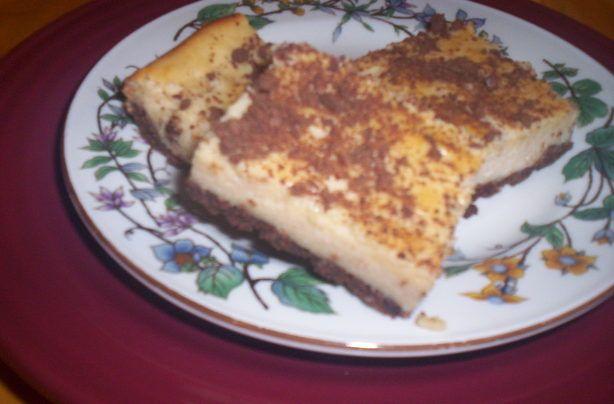 Peanut Butter Cheesecake Bars | Recipe
