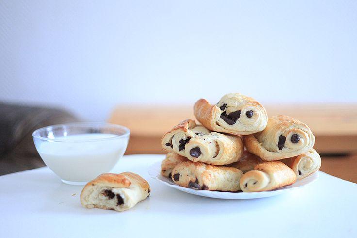 Vegan petits pains au chocolat   Recipes (made & loved)   Pinterest