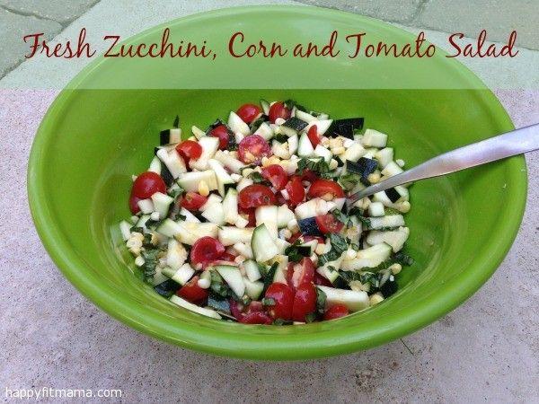 ... salad with sweet corn avocado zucchini and corn taco seasoned quinoa