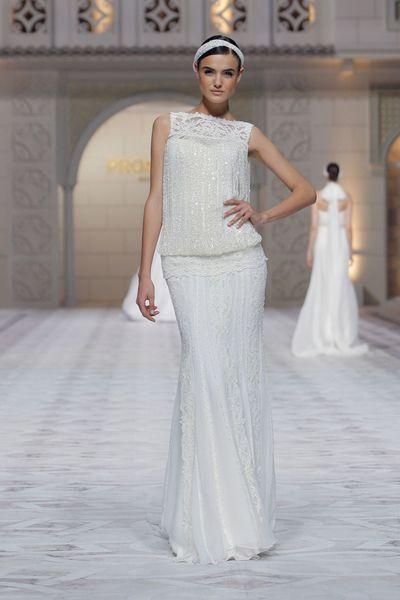 """Robe de mariée """"Cindy"""", Pronovias - EN IMAGES. Dix robes de mariée de la collection 2015 Pronovias - L'EXPRESS"""