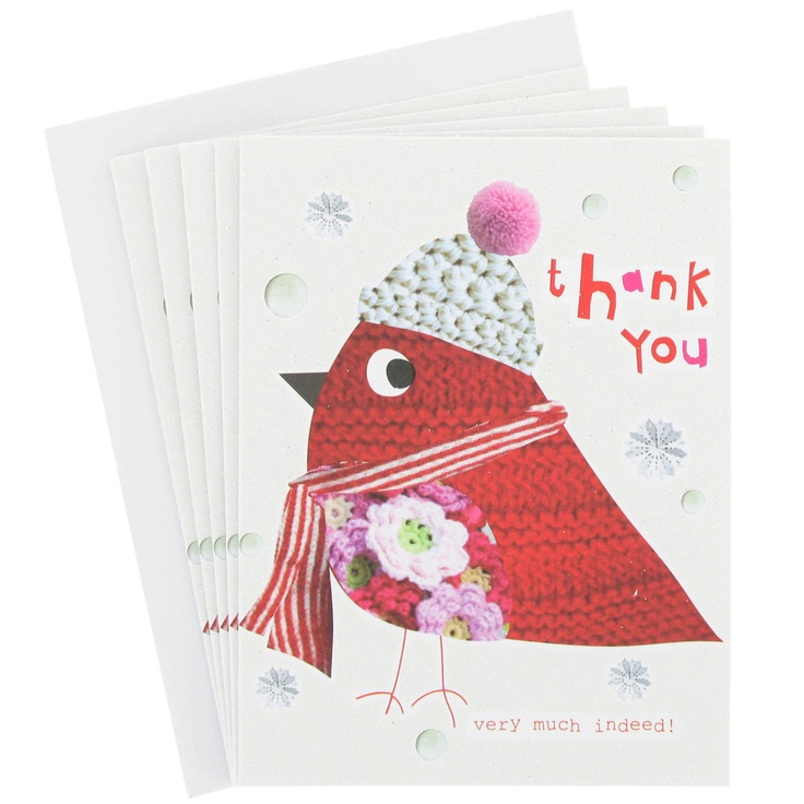 thank you robin Christmas cards