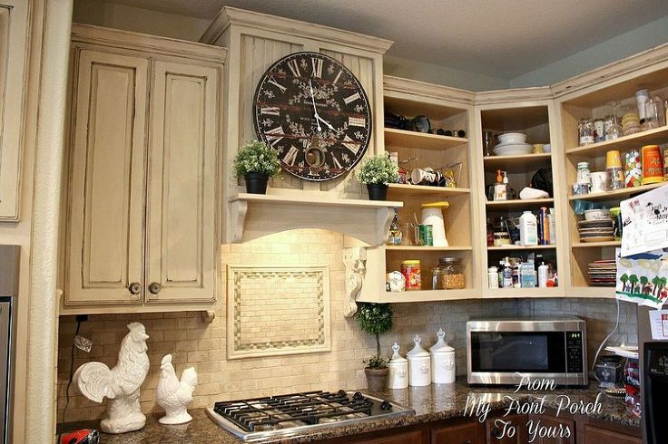 Creating A French Country Kitchen Cabinet Finish Using Chalk Paint